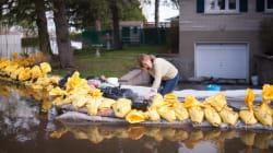 Inondations: la situation semble