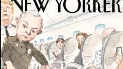 Trump et United Airlines en vedette sur cette couverture du «New