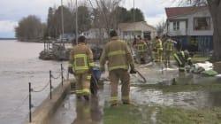 Inondations: pour plusieurs, le plus dur est
