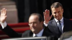 France: le président Macron entre à