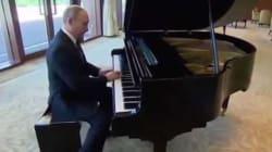 Petit concert improvisé de Vladimir