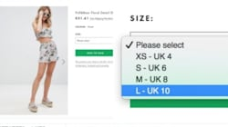 According To ASOS, Size 6 Is A Large And We're All