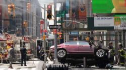 Une voiture fonce dans la foule sur Times Square; 1 mort et 22
