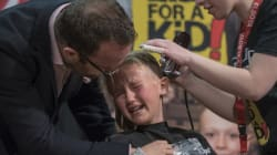 Calgary Girl's Brave Head Shave Captures Hearts