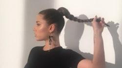 Adèle Exarchopoulos « hot mama » pour un shooting