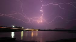 Un orage provoque des pannes de courant dans le nord du Nouveau