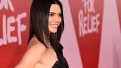 Kendall Jenner a porté le «crop top» le plus imposant jamais