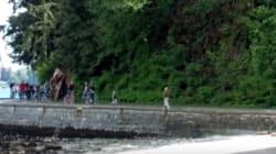 Kid Gives No Fudgsicles About Holding Back Vancouver Bike Lane