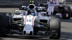 Lance Stroll est contraint à l'abandon au Grand Prix de F1 de