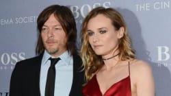 Norman Reedus très fier de sa chérie Diane Kruger récompensée à