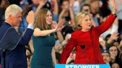 Après Bill et Hillary, Chelsea Clinton mûre pour la