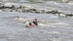 Un policier raconte comment il a sauvé deux jeunes de la noyade à
