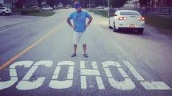 Road Painting Fail Near B.C. School Is Super