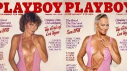年齢を重ねて私は輝く 25年以上前のプレイボーイ表紙を同じモデルが再現(画像)