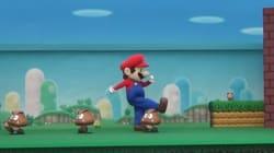 Voyez de quoi a l'air un niveau de «Super Mario» en