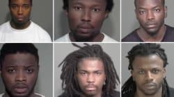 Comparution de huit hommes accusés de crimes violents dans le Grand