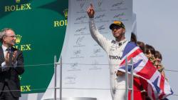 Lewis Hamilton remporte le Grand Prix de Formule 1 du