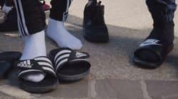 Alrima, le rappeur qui a lancé la mode des gougounes-chaussettes, explique le