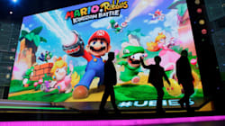 Mario se retrouvera dans le même jeu que les Lapins