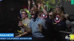 Ce journaliste en reportage à Disneyland a eu la peur de sa