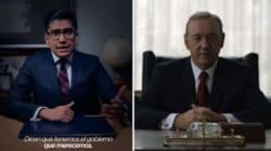 Ce politicien mexicain a plagié «House of Cards» pour sa publicité de