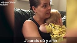 Cette maman va-t-elle pardonner à ce papa radin? Attention, suspense