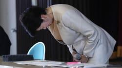 小池百合子知事、築地市場で謝罪「約束守れていない」