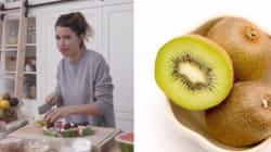 On mange ou pas la pelure de kiwi? Marilou dit que
