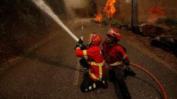 L'incendie au Portugal est presque complètement
