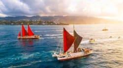ハワイアン・カヌー、3年間で世界一周を達成