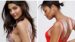 「ストレッチマークは隠さない」写真加工しないオンラインストア、水着姿のモデルが素敵