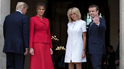 トランプ大統領、マクロン大統領の妻ブリジットさんに「スタイルいいね。美しい」⇒批判殺到