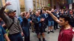 Grève des bagagistes d'Air Canada à Montréal et