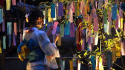 夕暮れの京都・貴船神社、笹飾りが織りなす景色が幻想的すぎる(画像集)