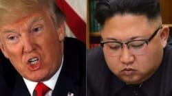 トランプ大統領、金正恩氏に合わせ技メッセージ