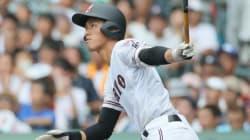 中村奨成、1大会で6本塁打 甲子園新記録で清原を超える 広島・広陵
