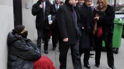 Nicolas Sarkozy et la prise en charge des SDF: