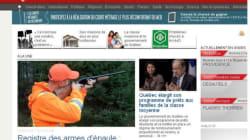 Page d'accueil de Radio-Canada: une pointe au gouvernement