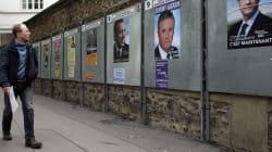 Présidentielle en France: premières affiches et spots officiels de
