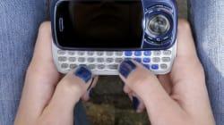 Les Canadiens ont envoyé 2500 messages textes par seconde en