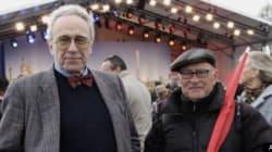 Sarkozy à la Concorde, les militants sortent la