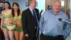 WATCH: Bikini-Clad Vegans Crash Toronto Mayor's