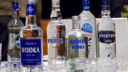 La vodka, pas faite que pour