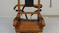 Peine de mort: le retour de la chaise électrique au