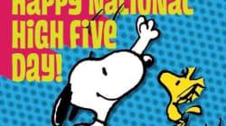 Journée internationale du high five: Tape