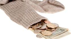 Une retraite à 67 ans, mais peu d'économies