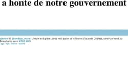 Site du ministère de l'Éducation piraté: On a honte de notre