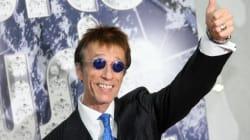 Robin Gibb, le chanteur vedette des Bee Gees est sorti du