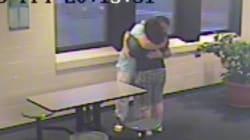 Surveillance Video Shows Loving Embrace Month After Tori's