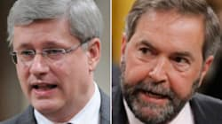 Harper Jeered For Saying NDP Didn't Support Battle Against